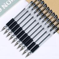中性笔0.5MM黑色水笔10支