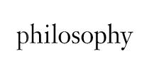 philosophy(自然哲理)