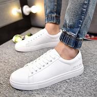 韩版男士百搭运动休闲小白鞋