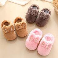 保暖防滑亲子棉拖鞋