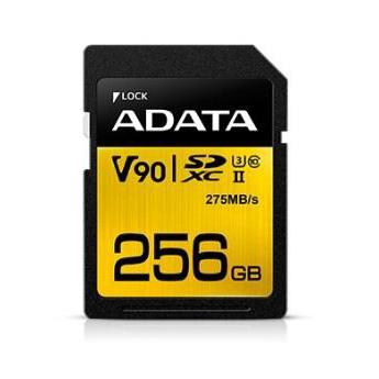 威刚  推256GB UHS-II Class 3存储卡