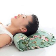 老粗布荞麦颈椎保健枕头