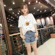 小雏菊宽松T恤