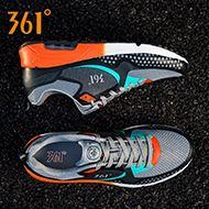 好价:361度复古气垫减震跑鞋