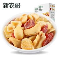 新农哥草莓苹果混合坚果仁30g*6包