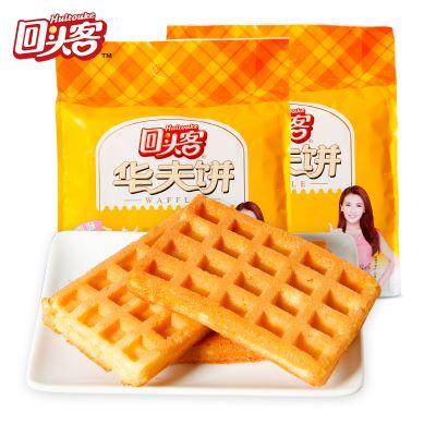回头客早餐面包原味华夫饼480g