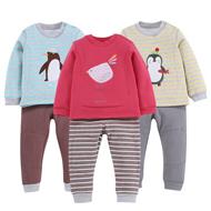 双11预售:贝贝帕克儿童秋冬保暖内衣套装
