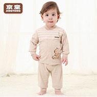 京童 婴儿 棉服套装