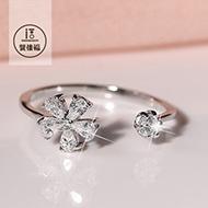 双佳福 女士 开口 S925纯银戒指