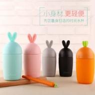 超萌小物:可爱兔子胡萝卜水杯