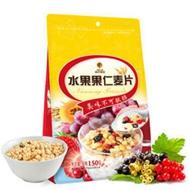 10袋南农水果果仁麦片150g