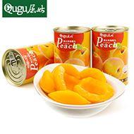 砀山糖水黄桃罐头425g*4罐