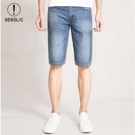 夏季牛仔五分裤