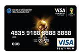 龙卡足球世界杯信用卡