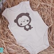 婴儿夏季薄款纯棉连体包屁衣