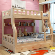 亿宸贵苏 实木子母床高低床