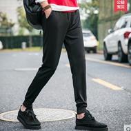 夏季新款男修身小脚运动裤