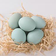 农家新鲜散养绿壳鸡蛋30枚