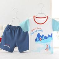 儿童纯棉短裤+T恤套装
