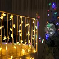 LED星星装饰小彩串灯