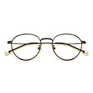 韩版复古珍珠眼镜框近视眼镜架