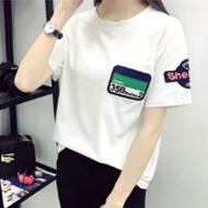 ulzzang夏季新款纯色T恤