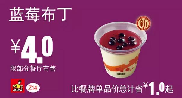 Z14蓝莓布丁