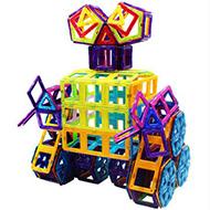 可爱号 儿童益智玩具 磁力片 104件