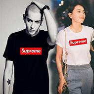 supreme短袖T恤 吴亦凡余文乐同款