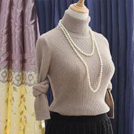 秋冬加厚高领女毛衣针织打底衫