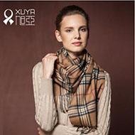旭亚 内蒙纯羊毛围巾 100%羊毛 多色可选