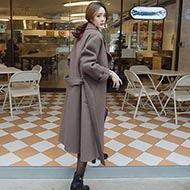 新款韩版时尚毛呢大衣