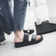 文艺男士夏季休闲情侣款拖鞋