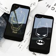 钢铁蝙蝠侠镜面暗黑苹果手机壳