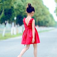 女童连衣裙韩版时尚背心裙