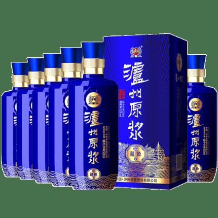 泸州老窖泸州原浆酒52度500ml*6瓶