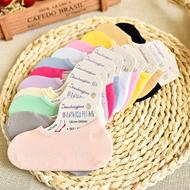 糖果色薄款硅胶防滑丝袜船袜