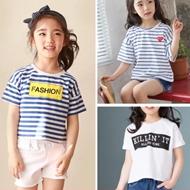 女童宽松短袖T恤