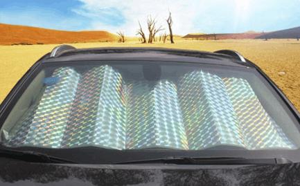 车安驰汽车前挡风玻璃遮光板