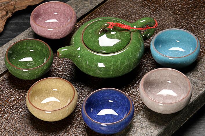 陶瓷茶具套装 7件
