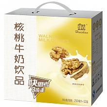 辉山(huishan)核桃牛奶饮品250ml*12礼盒装