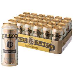 BLREOR 彼乐 小麦啤酒 500mLx24 整箱装 德国进口