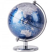 deli 得力 2160 世界地球仪摆件 13cm*2件 凑单品