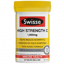 Swisse高强度维生素C 60片*2件