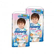 moony 尤妮佳 男宝宝拉拉裤 L44片*2包