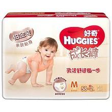 HUGGIES 好奇 铂金装成长裤 M58+2