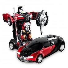 荣骏(RONGJUN)120 变形金刚1:32合金回力车 儿童益智玩具