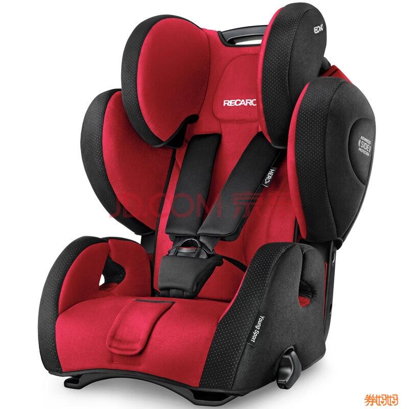 recaro 瑞凯威 儿童安全座椅 超级大黄蜂 2080元(2180