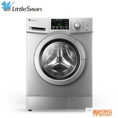 小天鹅 tg80-1229eds 洗衣机,8公斤洗涤容量,采用 ts-driver 变频电机