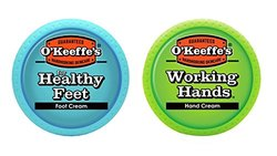 O'Keeffe's K0350015 Working Hands and Healthy 护手霜和护脚霜组合套装